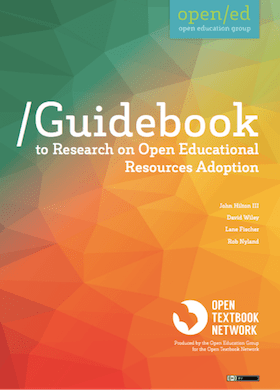 Guidebook to Research on Open Educational Resources Adoption